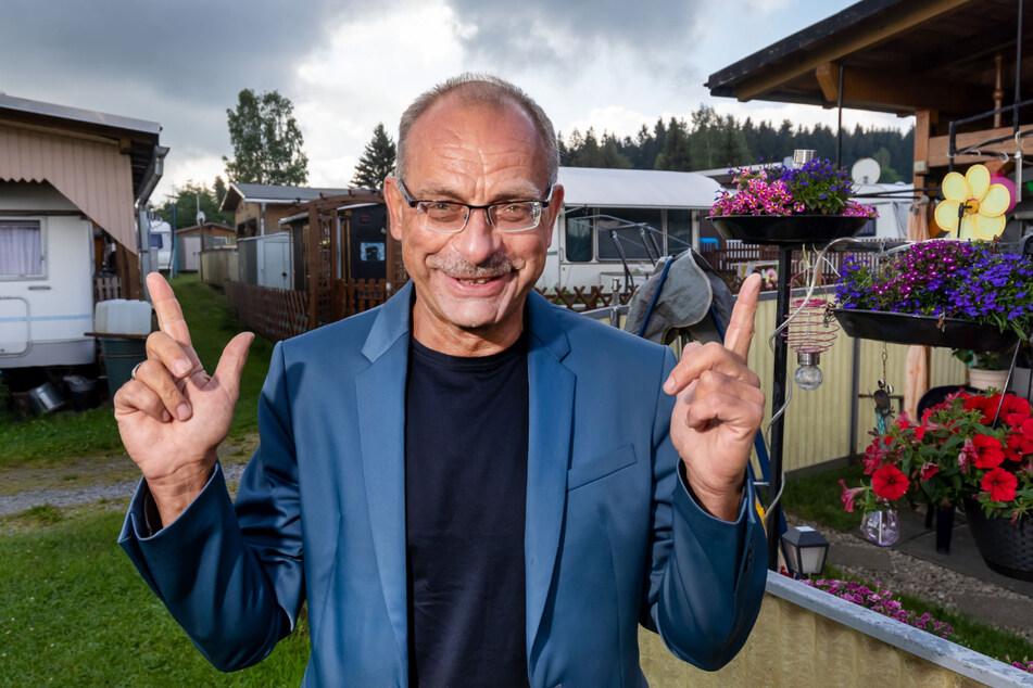 Bald alles voll: Der Campingpark von Jörg Tottewitz (59) ist ab Mitte Juli komplett ausgebucht.