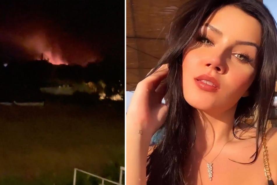 Nathalie Volk: Waldbrände in der Türkei: Nathalie Volk zeigt dramatische Bilder