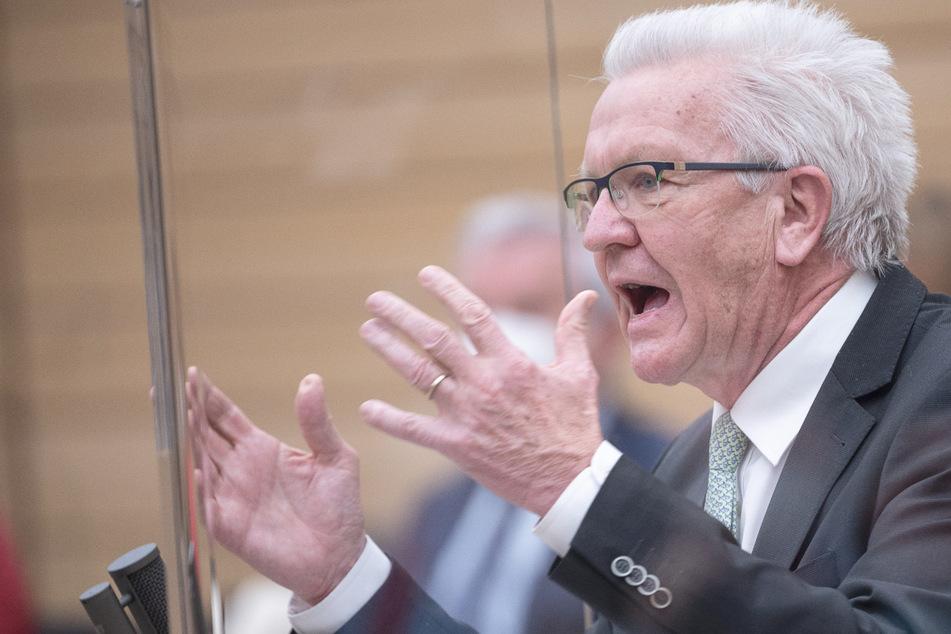Keine Öffnung des Handels und der Gastronomie: Kretschmann in der Kritik