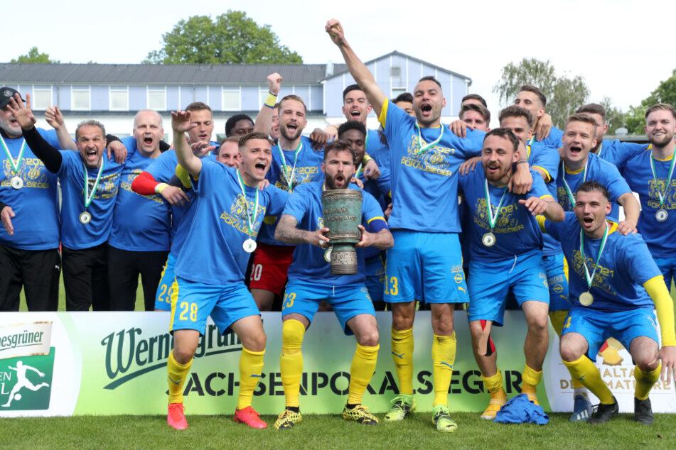 Der Sieg des Sachsenpokals liegt noch keine drei Wochen zurück, da beginnt für Lok Leipzig schon fast wieder die Vorbereitung für die kommende Saison.
