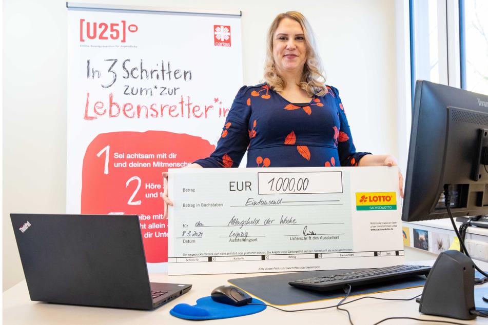 Diana Kotte (36) ist aufgrund ihres Einsatzes unsere Wochengewinnerin und verdient die 1.000 Euro-Heldenprämie.
