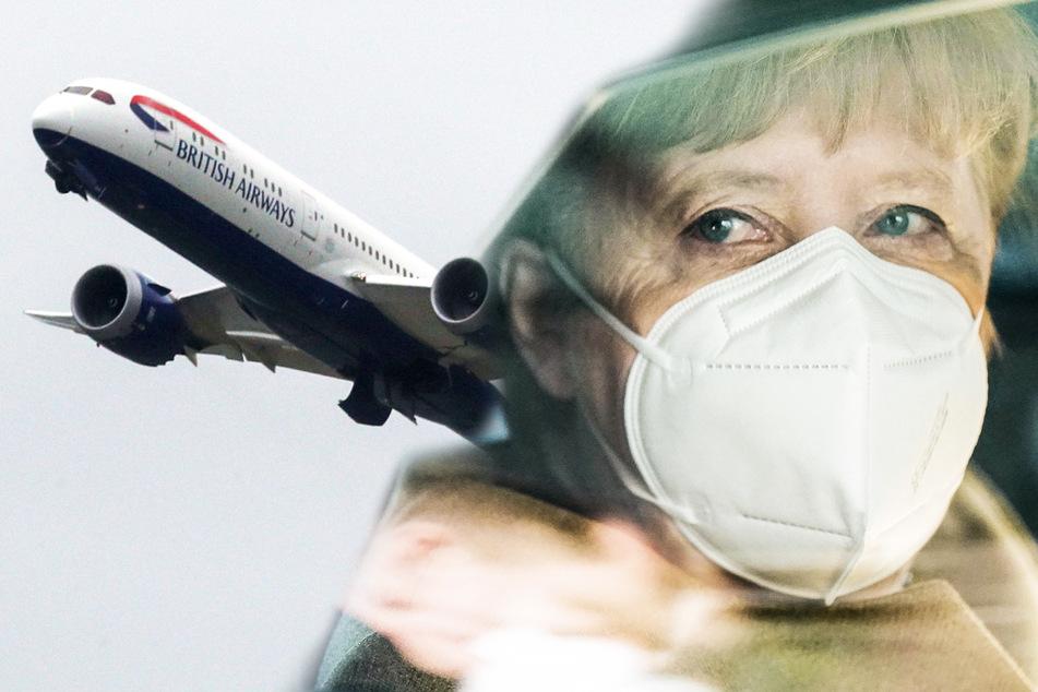 """""""Flugverkehr auf nahezu Null reduzieren"""": Seehofer und Merkel mit heftigen Überlegungen"""