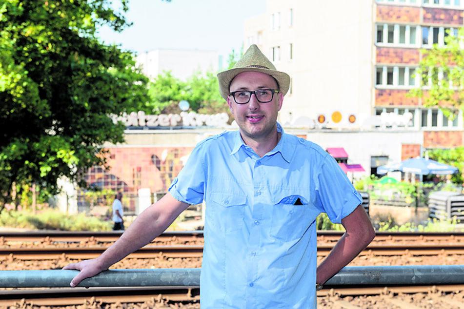 Stadtteilkümmerer Mathias Körner (42, SPD) will an die Geschichte des Stadtteils Gorbitz erinnern.