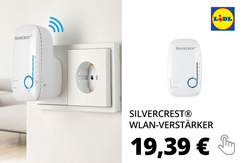 SILVERCREST® WLAN-Verstärker »SWV 733 B3«, mit 3 Antennen, Wireless-Router-Funktion