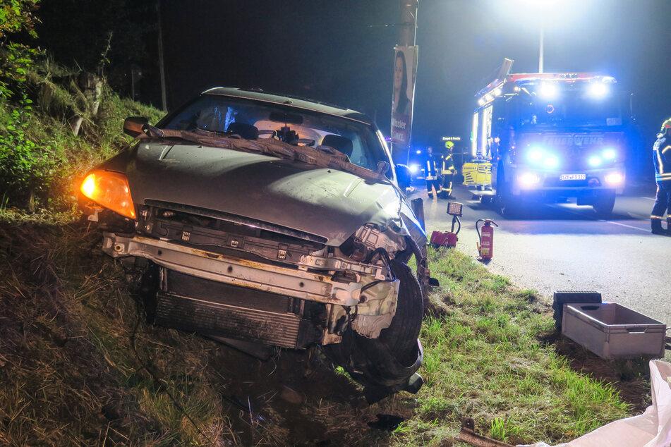 Der 24-jährige Fahrer des Ford blieb bei dem Unfall unverletzt.