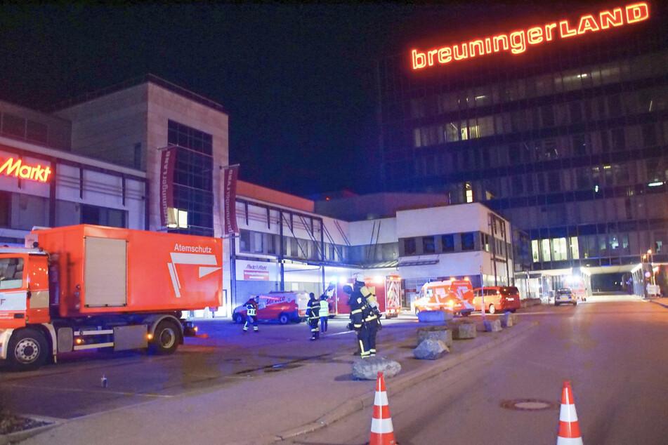 Großeinsatz der Feuerwehr im Breuningerland: Was war los?