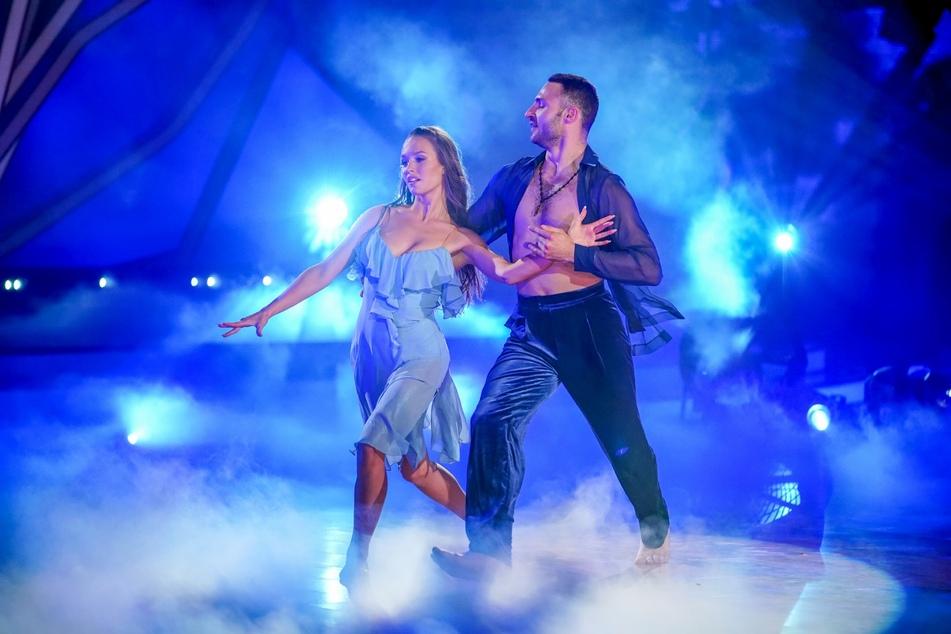 Laura Müller und Robert Beitsch tanzten trotz knapper Vorbereitung.