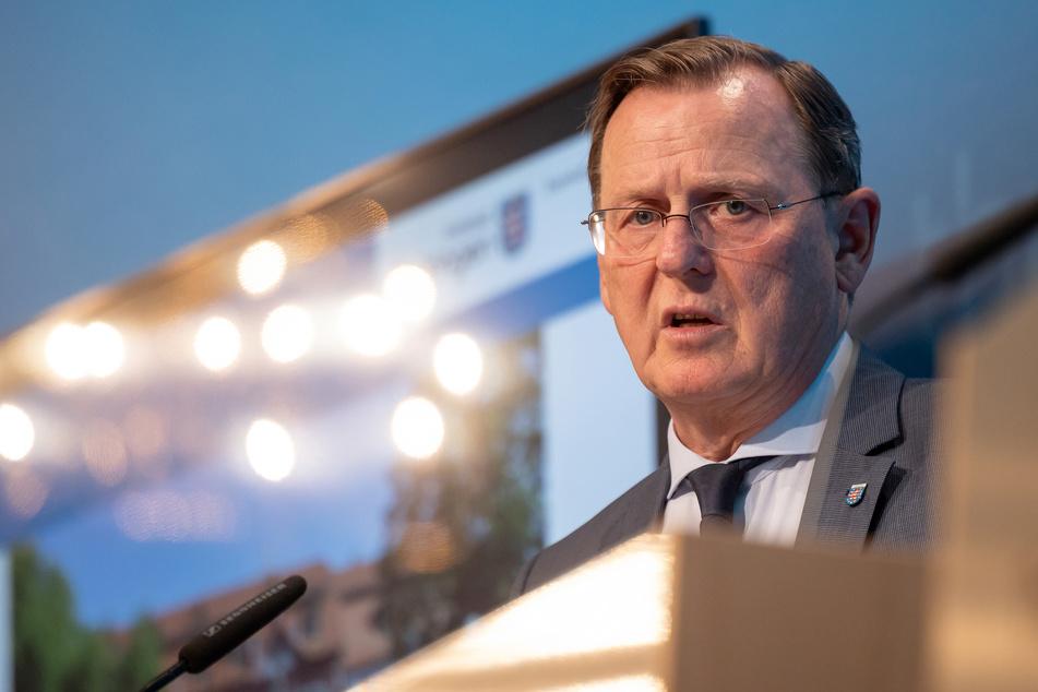 Merkel ließ Kritik am Vorgehen von Ministerpräsident Bodo Ramelow (Linke) durchblicken.