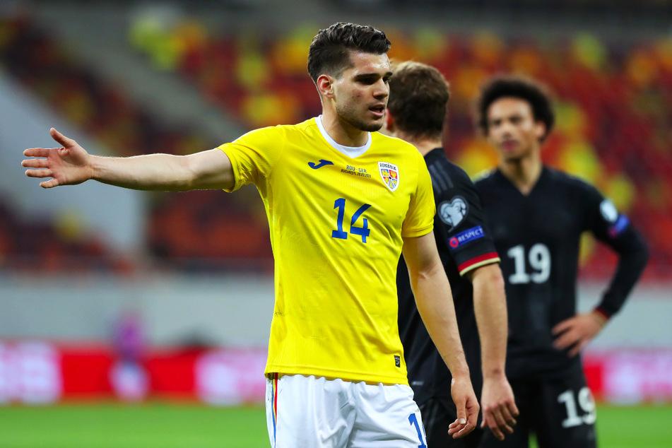 Ianis Hagi (22, l.) ist in der rumänischen Nationalmannschaft gesetzt und spielte sowohl in der U21, als auch mit dem A-Team schon gegen Deutschland.