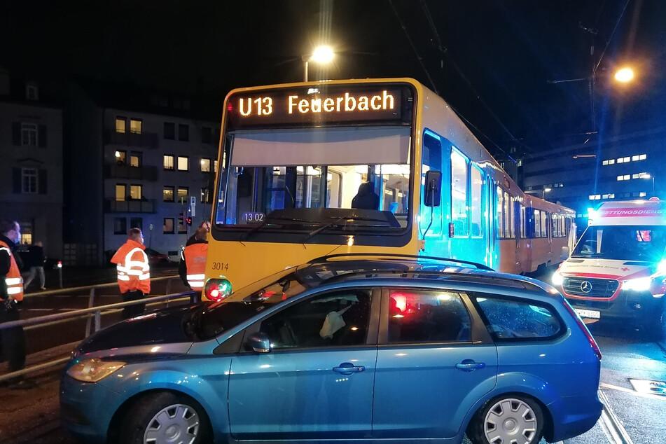 Schwerer Stadtbahn-Unfall in Stuttgart-Bad Cannstatt