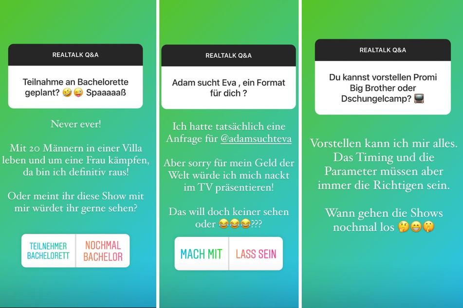 Andrej Mangold (34) verrät in einer Instagram-Story, an welchen TV-Shows er künftig teilnehmen würden, und an welchen nicht. (Fotomontage)