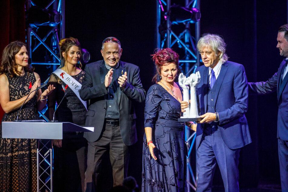 Sir Bob Geldof (68) wurde 2019 auf der Hope Gala für sein Afrika-Engagement ausgezeichnet.