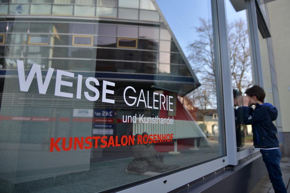Die Galerie Weise befindet sich am Rosenhof 4.