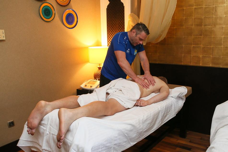 In den vergangenen acht Jahren kümmerte sich Olaf Renn als Physiotherapeut um die himmelblauen Kicker.
