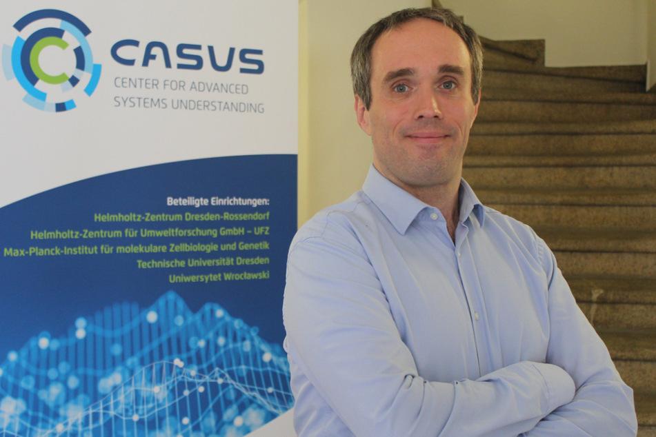 Testplattform: Michael Bussmann vom Görlitzer Casus-Zentrum macht Corona-Tests noch wirkungsvoller.