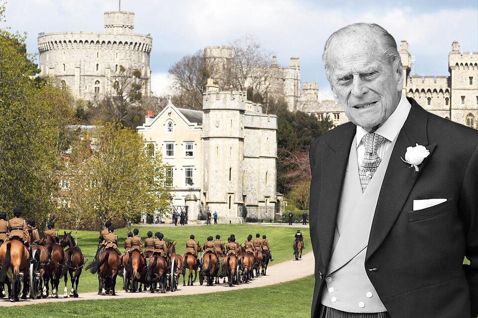 Prinz Philip (†99) wird heute verabschiedet: Livestream für Meghan, Prinzen laufen getrennt