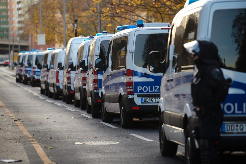 Mehr als 1600 Polizeibeamte waren am Morgen im Einsatz.