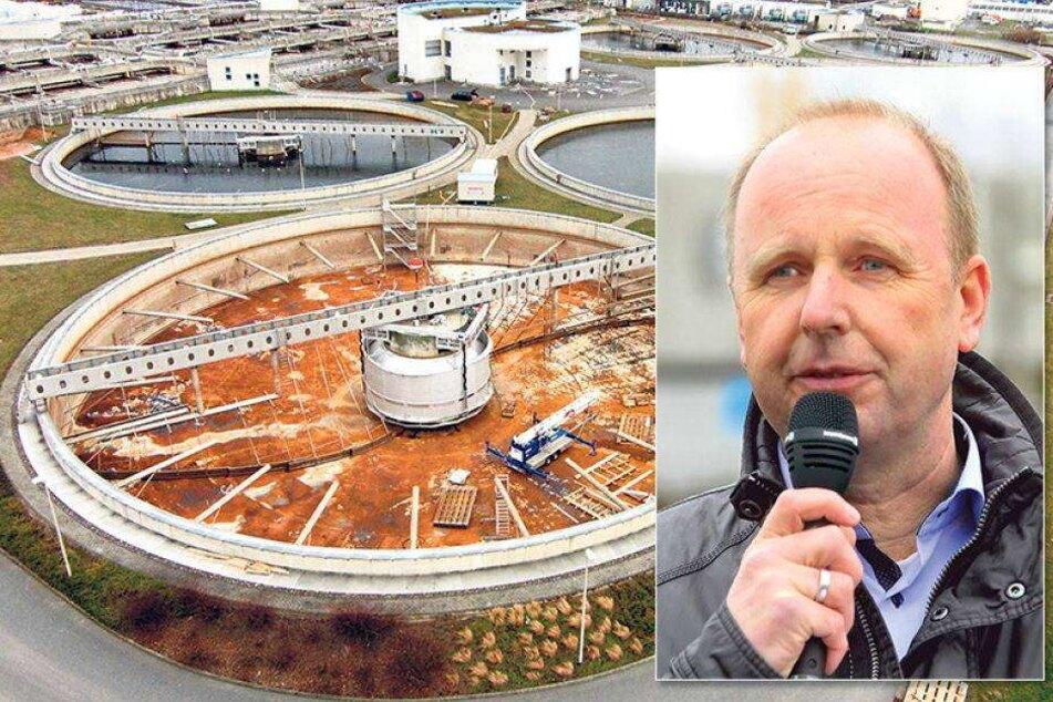 Der Dreck muss weg! Neue Technik für Dresdens Abwasser
