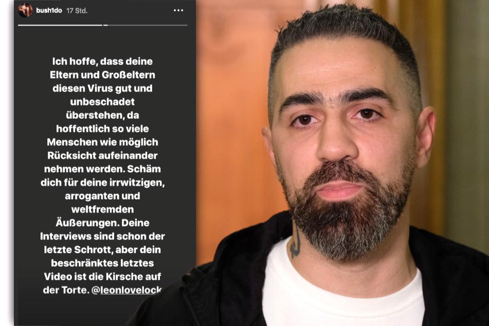 Rapper Bushido (41) schießt in seiner Instagram-Story scharf gegen YouTuber Leon Lovelock.