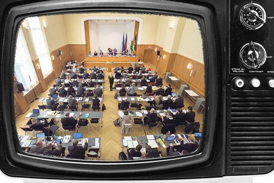 Gähn! Kaum einer will Dresdens Stadträte im TV