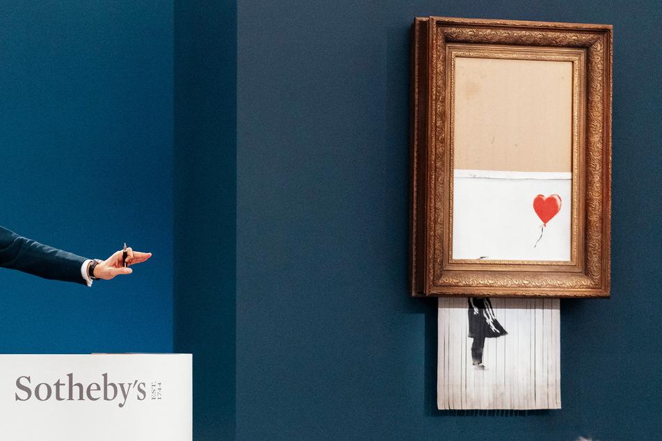 Rekordwert: So viel brachte Schredder-Banksy jetzt ein!