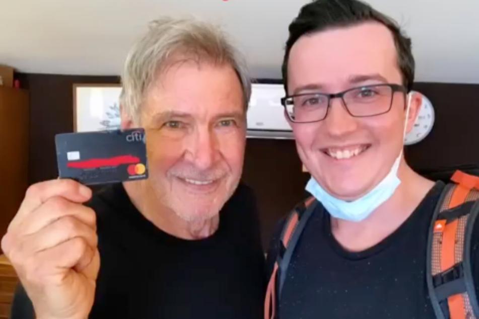 Ein Stuttgarter war's: Er fand die Kreditkarte von Harrison Ford!