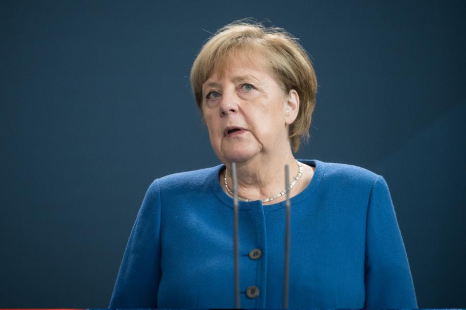 Bundeskanzlerin Angela Merkel (66, CDU.