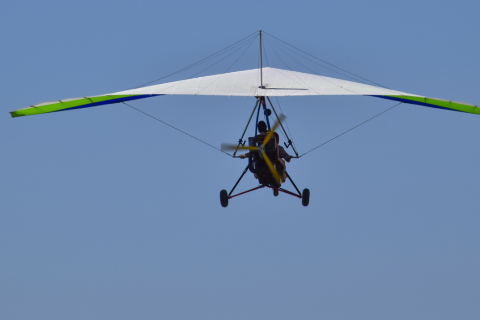 Der Mann flog mit einem Trike (Ultraleichtflugzeug). (Symbolbild)