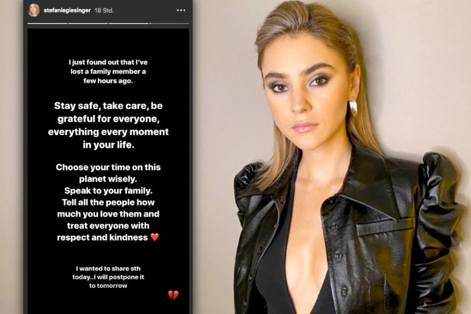 Stefanie Giesinger (23) teilt auf Instagram ihren schweren Verlust.