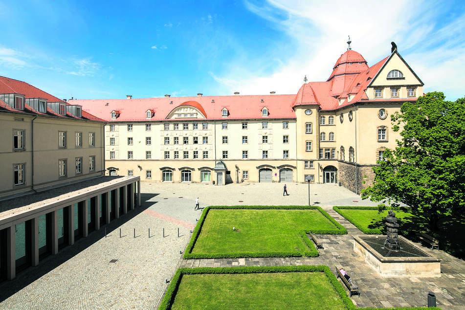 Das Landratsamt Sächsische Schweiz-Osterzgebirge in Pirna.