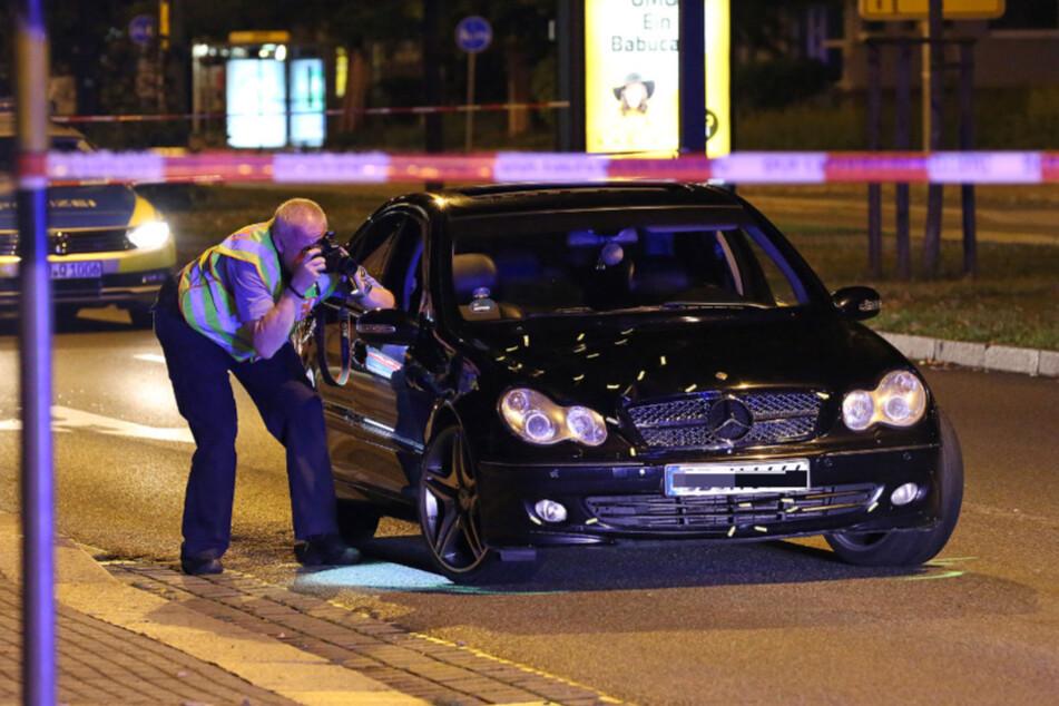 Der Unfallwagen wird infolge des Unfalls von einem Sachverständigen überprüft.