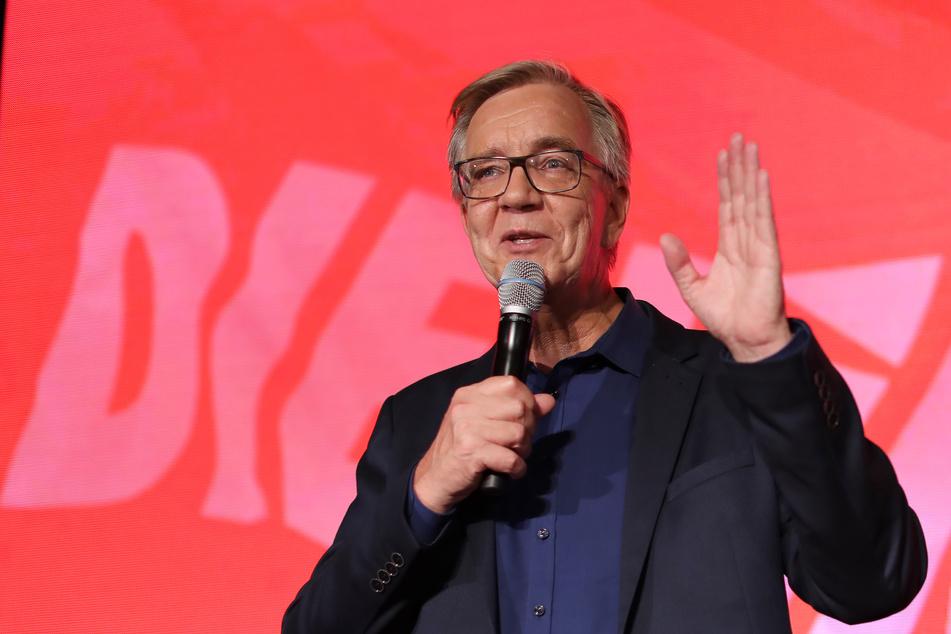 """Dietmar Bartsch, Fraktionsvorsitzender der Partei """"Die Linke"""""""