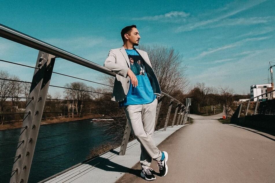 """Rapper Eko Fresh (36) hat einen 87-Minuten-Song mit dem Namen """"2020 Bars"""" veröffentlicht."""