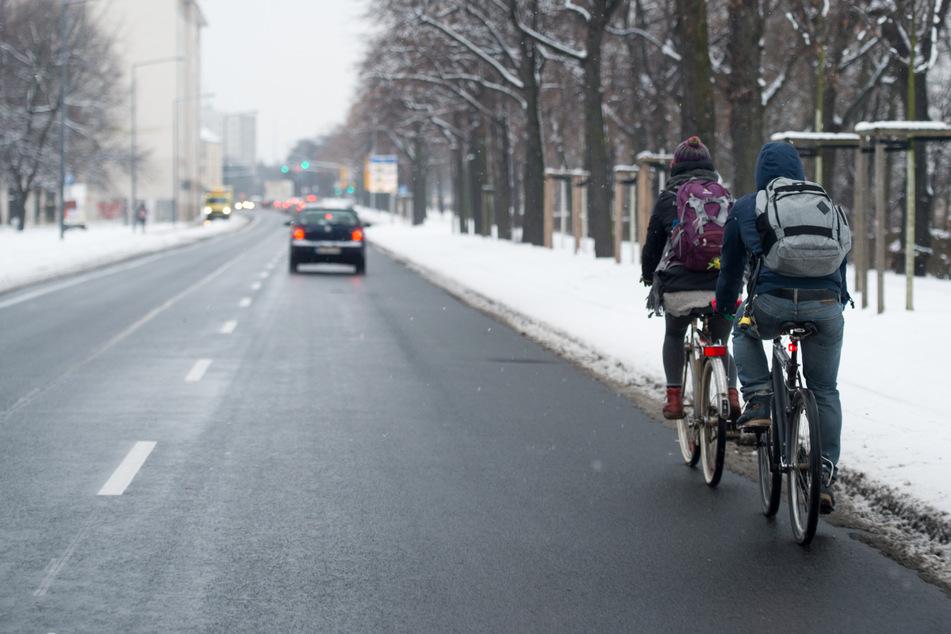 """Kritik an nicht geräumten Radwegen: """"Akzeptanz gegenüber Radfahrern fehlt"""""""