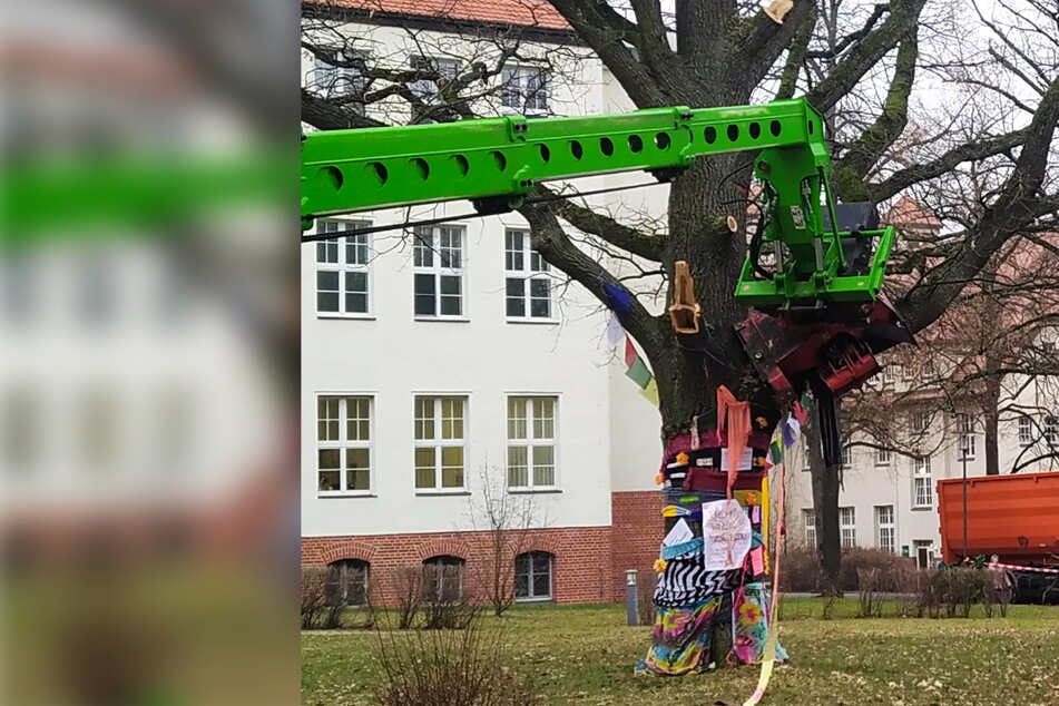 Chemnitz: Trotz Strick-Protesten: Kahlschlag am Klinikum Chemnitz