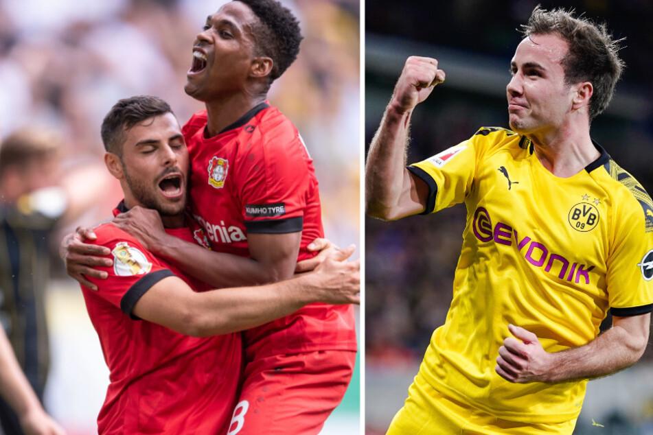 Hertha BSC ist angeblich an Mario Götze (r.) und Wendell (2.v.l.) interessiert.