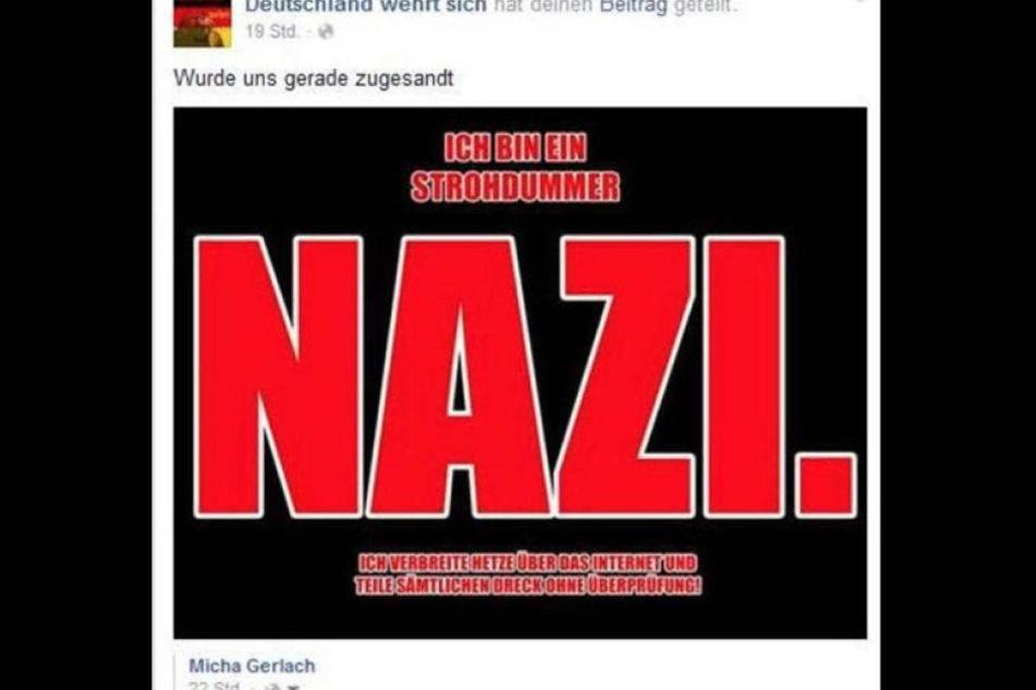 Chemnitzer Sozialamt-Gutschein entlarvt Facebook-Hetzer
