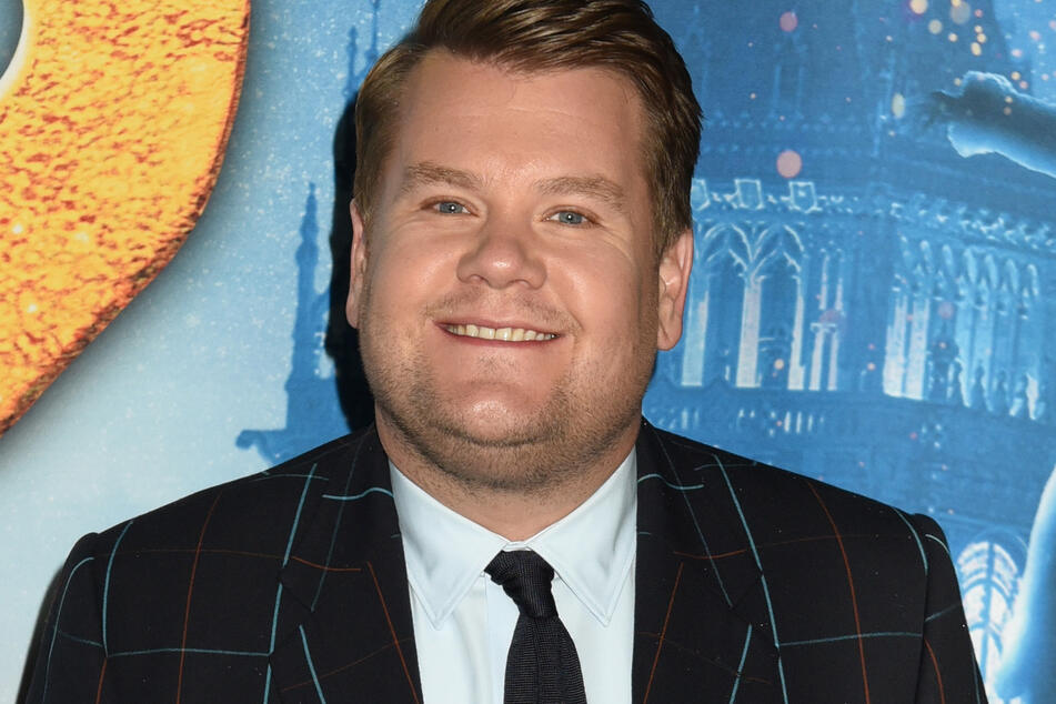 James Corden says he has always been unhappy with his weight.