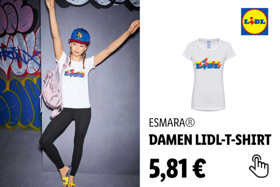 ESMARA® Damen Lidl-T-Shirt