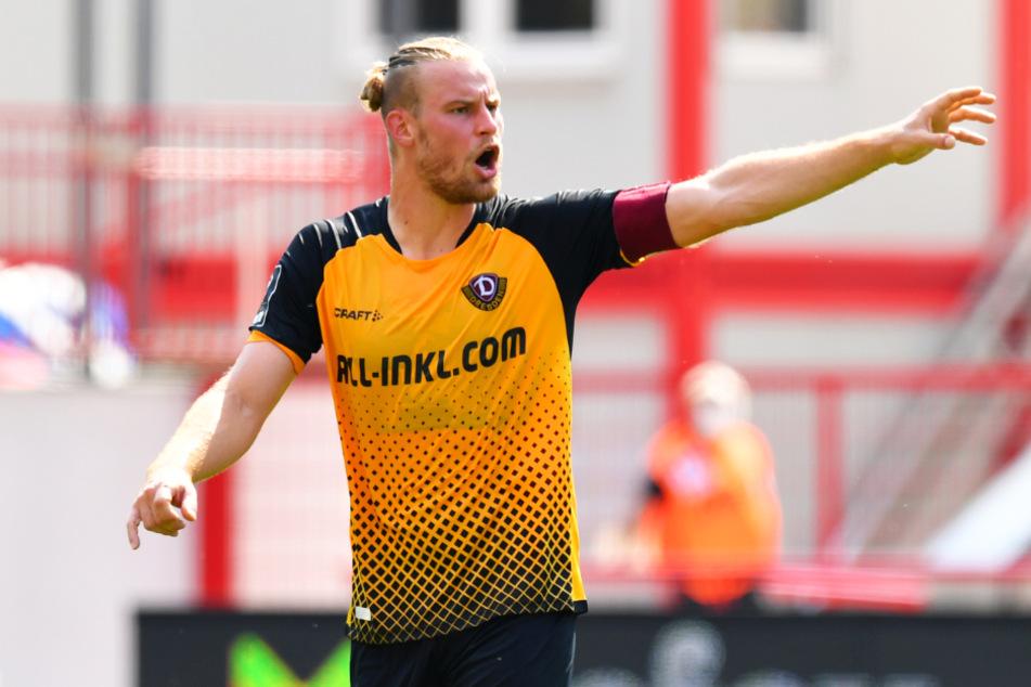 Dynamo-Kapitän Sebastian Mai glaubt nicht, dass die leeren Ränge in München die Dresdner groß beeinflussen werden.