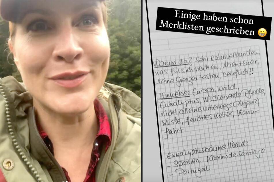 Schon im Juli hatte Judith Rakers (45) ihre Fans zum Rätseln aufgerufen.