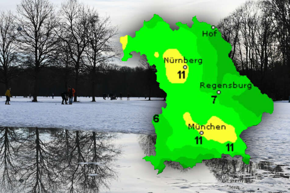 Wolken oder doch Sonne? So wird das Wetter in Bayern