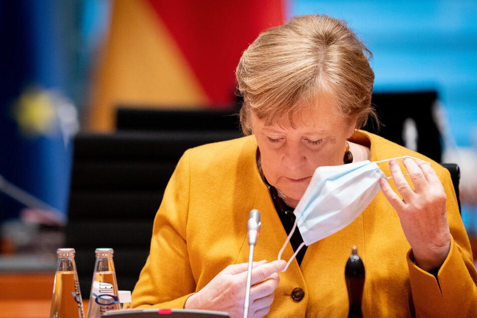 Kanzlerin Angela Merkel (66, CDU).