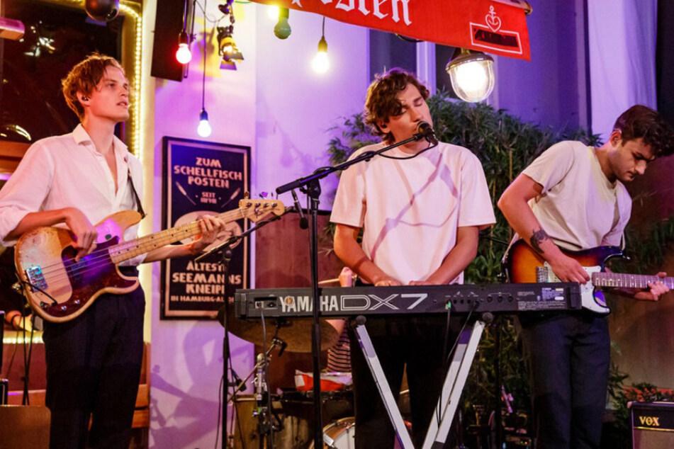 """Die Band """"Jeremias"""" begeistert mit 80er-Jahre-Sounds."""