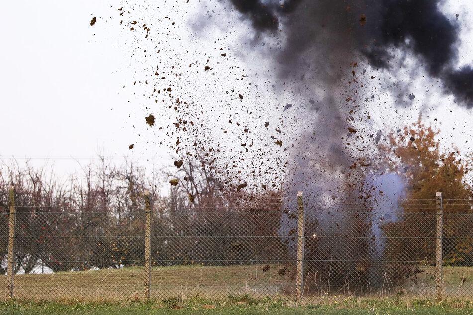Schwere Explosion bei Dresden: Was flog heute in die Luft?