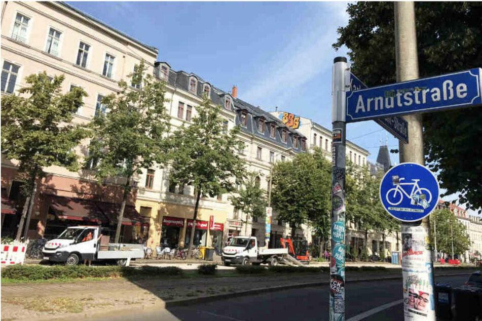 """Vorerst bleibt es in der Südvorstadt bei der """"Arndtstraße""""."""