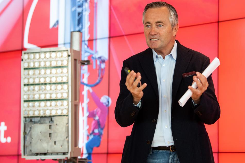 Hannes Ametsreiter (54), Vorstandsvorsitzender von Vodafone Deutschland.