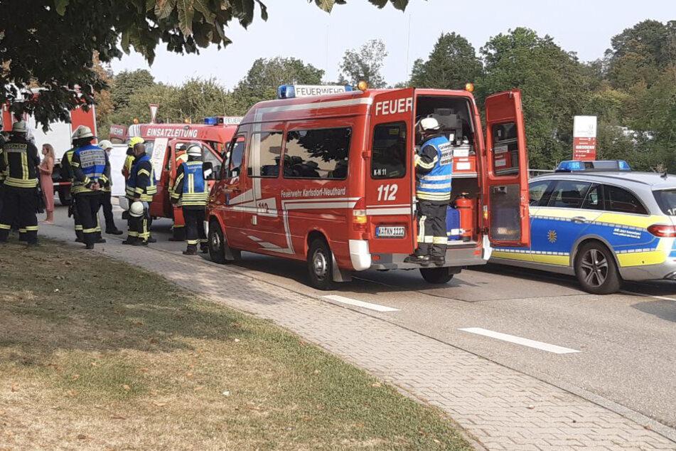 Feuer in Chemie-Firma ausgebrochen! Zwei Verletzte