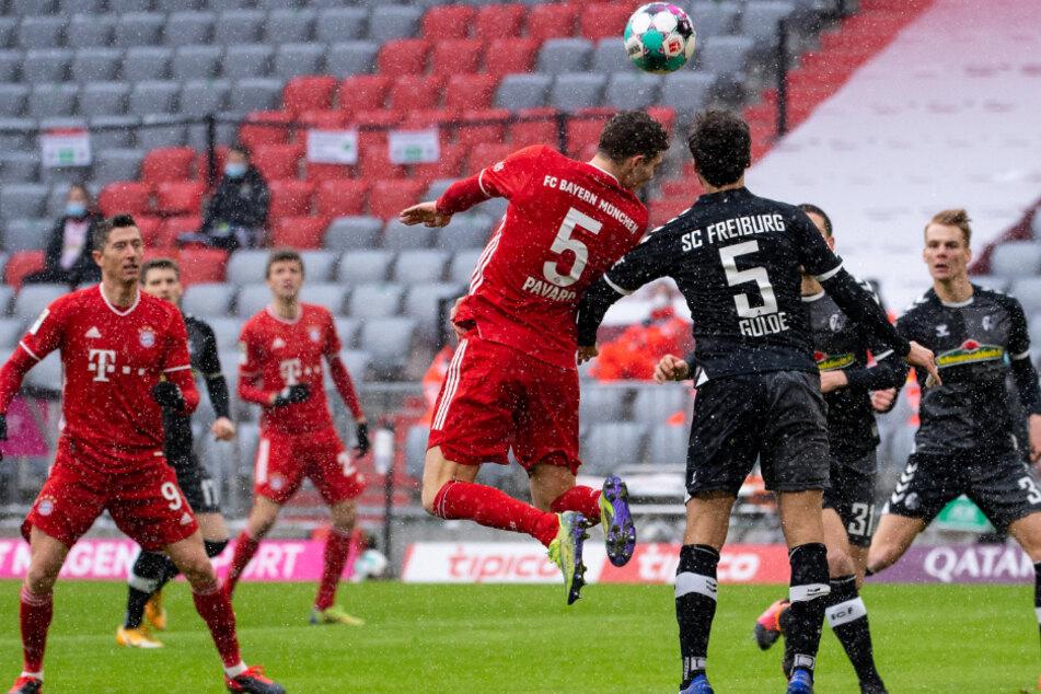 Kein Selbstläufer! Der FC Bayern München tat sich gegen den SC Freiburg am 16. Spieltag der Bundesliga über weite Strecken durchaus schwer.
