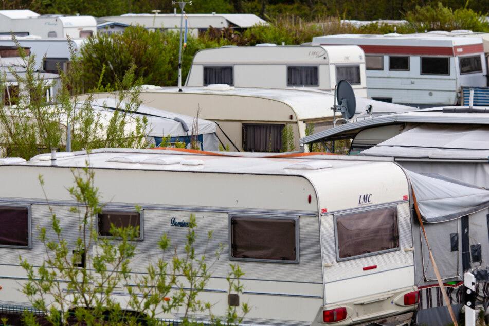 Der Campingplatz Dyksterhus nimmt nur Gäste mit Corona-Warn-App auf.